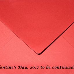 Love is in the air! And, there is a mysterious person knocking on my front door…